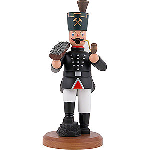 Smokers Santa Claus Smoker - Miner with Ore Bowl - 22 cm / 8.7 inch