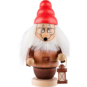 Nutcrackers Famous Persons Smoker - Mini Gnome Boss - 15 cm / 5.9 inch