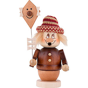 Smokers Hobbies Smoker - Mini-Gnome Girl with Kite - 12,5 cm / 5 inch