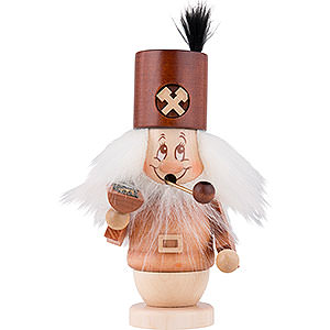 Smokers Professions Smoker - Mini-Gnome - Miner - 14,5 cm / 5,7 inch