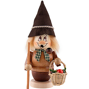 Smokers Hobbies Smoker - Mini Gnome Mushroom Gatherer - 15,5 cm / 6.1 inch
