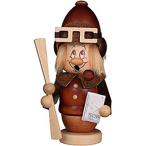 Smokers Professions Smoker - Mini Gnome Pilot - 15,5 cm / 6.1 inch