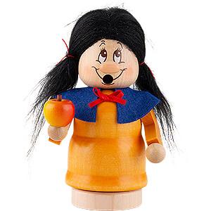 Nutcrackers Famous Persons Smoker - Mini Gnome Snow White - 13 cm / 5.1 inch