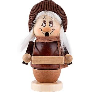 Smokers Misc. Smokers Smoker - Mini Gnome Striezel Girl - 13 cm / 5.1 inch