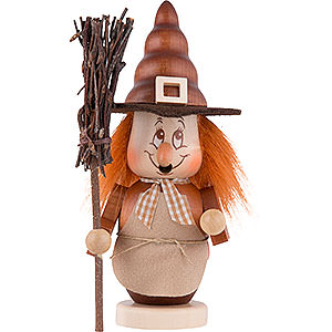Smokers Misc. Smokers Smoker - Mini Gnome Witch - 16 cm / 6 inch