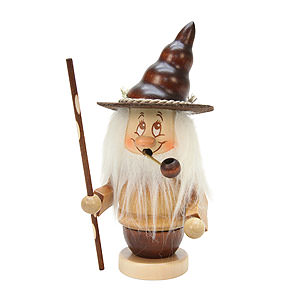 Smokers Misc. Smokers Smoker - Mini-Gnome with Stick - 16,5 cm / 6,5 inch