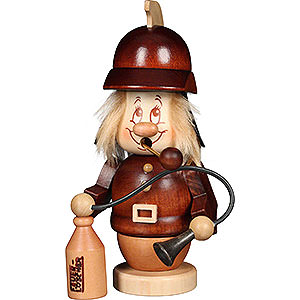 Smokers Professions Smoker - Minignome Firefighter - 15,5 cm / 6.1 inch