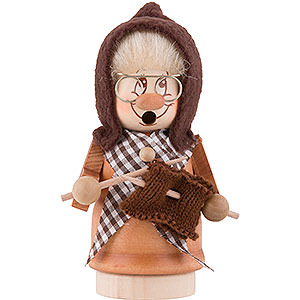 Smokers Misc. Smokers Smoker - Minignome Grandma - 13 cm / 5 inch