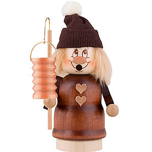 Smokers Misc. Smokers Smoker - Minignome Lantern Girl - 16,5 cm / 7 inch