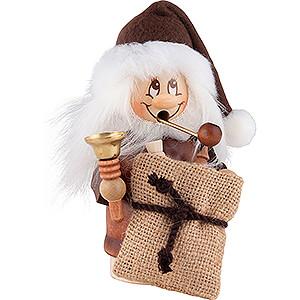 Smokers Santa Claus Smoker - Minignome Santa Claus with Bell - 15,5 cm / 6.1 inch