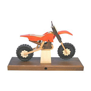 Smokers Hobbies Smoker - Motorcycle Cross 27x18x8 cm / 11x7x3 inch