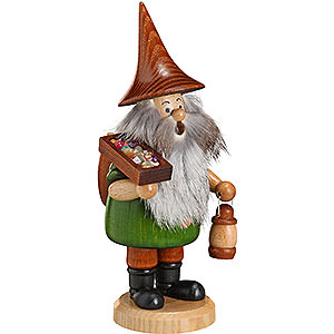 Smokers Professions Smoker - Mountain Gnome Ore Carrier - 18 cm / 7 inch