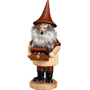 Smokers Hobbies Smoker - Mountain Gnome with Treasure Box - 18 cm / 7.1 inch