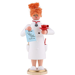 Smokers Professions Smoker - Mrs. Doctor - 22 cm / 9 inch
