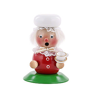 Smokers Santa Claus Smoker - Mrs. Santa - 25 cm / 10 inch