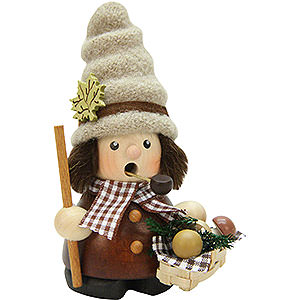 Smokers Hobbies Smoker - Mushroom Collector Natural - 12 cm / 4.7 inch