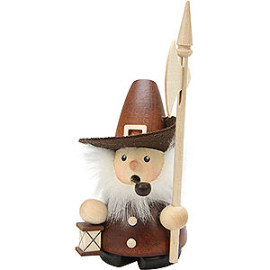 Smokers Professions Smoker - Nightwatchman Natural - 10 cm / 4 inch