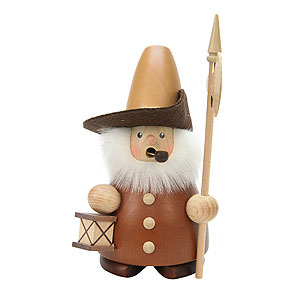 Smokers Professions Smoker - Nightwatchman Natural - 17 cm / 7 inch