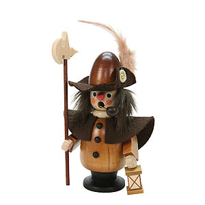 Smokers Professions Smoker - Nightwatchman Natural Colors - 11 cm / 4 inch
