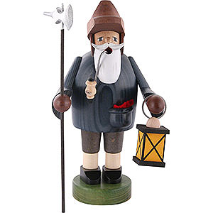 Smokers Professions Smoker - Nightwatchman with Lantern - 36 cm / 14 inch