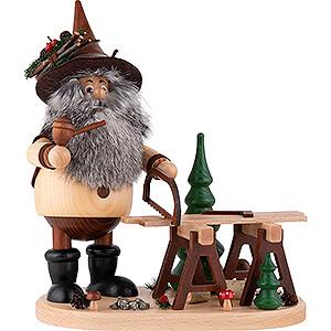 Smoker - Ore Gnome Mining Carpenter - 26 cm / 10.2 inch