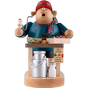 Smokers Professions Smoker - Organic Farmer - 20 cm / 7.9 inch