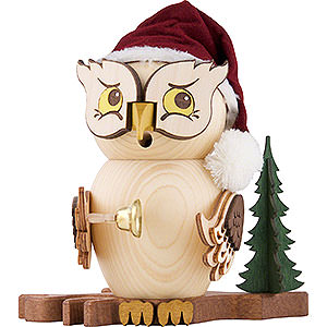 Smokers Santa Claus Smoker - Owl Santa Claus - 15 cm / 5.9 inch