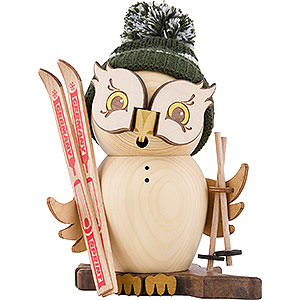 Smokers Hobbies Smoker - Owl Skier - 15 cm / 5.9 inch