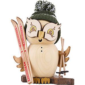 Smokers Hobbies Smoker - Owl Skier - 15 cm / 5.9 inch