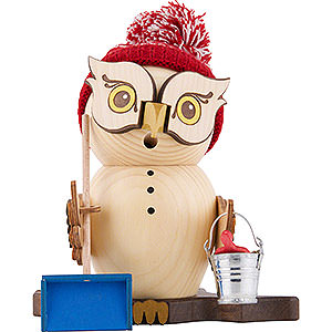 Smokers Animals Smoker - Owl Snow Sweeper - 15 cm / 5.9 inch