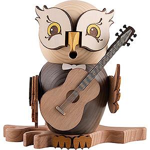 Smokers Hobbies Smoker - Owl with Guitar - 15 cm / 5.9 inch