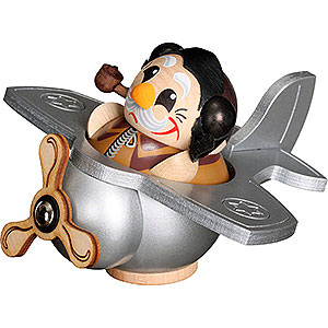 Smokers Professions Smoker - Pilot - Ball Figure - 12 cm / 5 inch