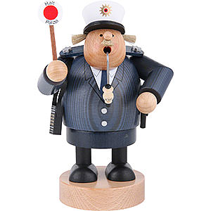 Smokers Professions Smoker - Policeman - 20 cm / 8 inch
