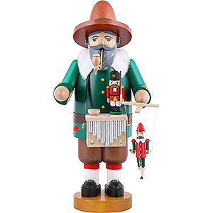 Smokers Professions Smoker - Puppet Player with Music Tune - 36 cm / 14 inch