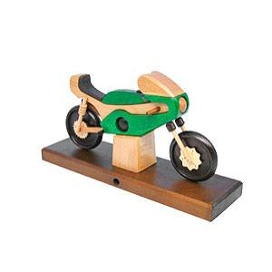 Smokers Hobbies Smoker - Racing Motorbike Green 27x18x8 cm / 11x7x3 inch