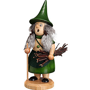 Smokers Hobbies Smoker - Rooty-Dwarf Brushwood Woman Green - 18 cm / 7.1 inch