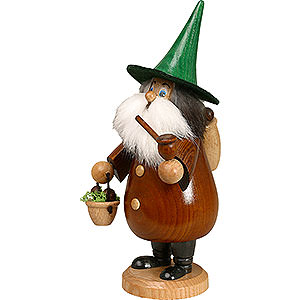 Smokers Hobbies Smoker - Rooty-Dwarf Mushroom Foray Brown - 19 cm / 7 inch
