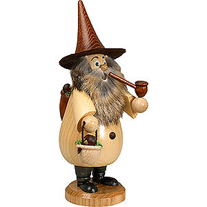 Smokers Hobbies Smoker - Rooty-Dwarf Mushroom Foray Natural Colors - 19 cm / 7 inch