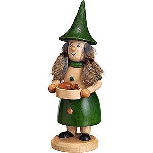 Smokers Hobbies Smoker - Rooty-Dwarf Pan Woman Green - 18 cm / 7.1 inch