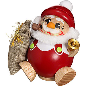 Smokers Santa Claus Smoker - Santa Claus - Ball Figure - 12 cm / 5 inch