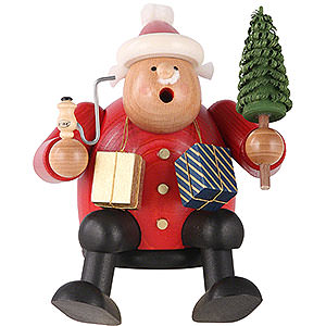 Smokers Santa Claus Smoker - Santa Claus - Edge Stool - 15 cm / 6 inch