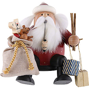 Smokers Santa Claus Smoker - Santa Claus - Edge Stool - 16 cm / 6 inch