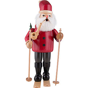 Smokers Santa Claus Smoker - Santa Claus with Ski - 52 cm / 20.5 inch