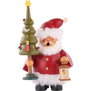 Smokers Santa Claus Smoker - Santa Claus with Tree - 14 cm / 5.5 inch