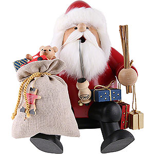 Smokers Santa Claus Smoker - Santa - Edge Stool - 26 cm / 10 inch