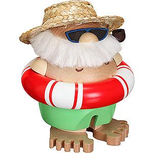 Smokers Santa Claus Smoker - Santa Incognito - Ball Figure - 11 cm / 5 inch