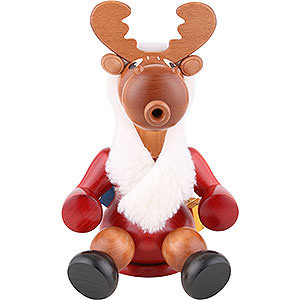 Smokers Misc. Smokers Smoker - Santa Moose - 24 cm / 9 inch