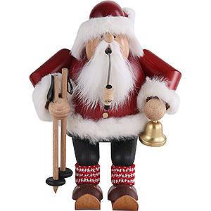 Smokers Santa Claus Smoker - Santa with Ski - 20 cm / 7.9 inch