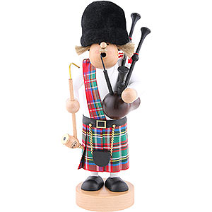 Smokers Hobbies Smoker - Scotsman with Bagpipe - 29 cm / 11.4 inch