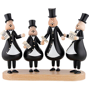 Smokers Professions Smoker - Singer Quartet - 29 cm / 11.4 inch